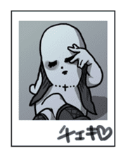 Visual kei Girl STAMP sticker #815318