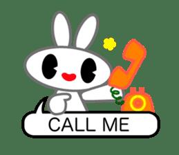Editor Rabbit and Writer Turtle English sticker #816081