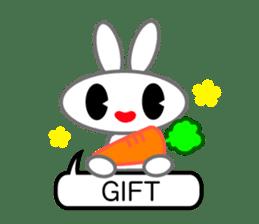 Editor Rabbit and Writer Turtle English sticker #816085