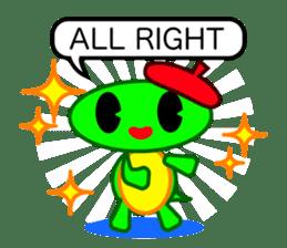 Editor Rabbit and Writer Turtle English sticker #816089