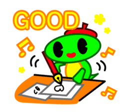 Editor Rabbit and Writer Turtle English sticker #816091