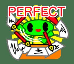 Editor Rabbit and Writer Turtle English sticker #816092