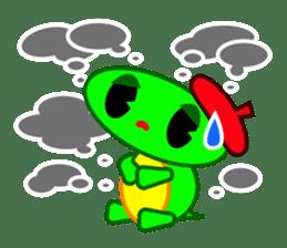 Editor Rabbit and Writer Turtle English sticker #816093