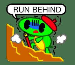 Editor Rabbit and Writer Turtle English sticker #816101