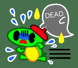Editor Rabbit and Writer Turtle English sticker #816102