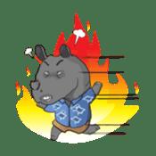 Hansip and Friends sticker #816187