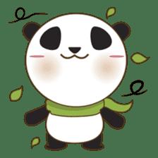 BaoBei the cute and energetic panda sticker #816239