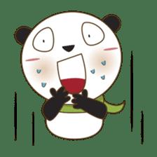 BaoBei the cute and energetic panda sticker #816242