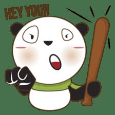 BaoBei the cute and energetic panda sticker #816243