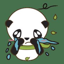 BaoBei the cute and energetic panda sticker #816244