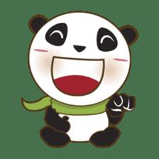 BaoBei the cute and energetic panda sticker #816245