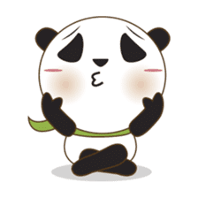 BaoBei the cute and energetic panda sticker #816247