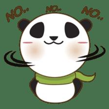 BaoBei the cute and energetic panda sticker #816249