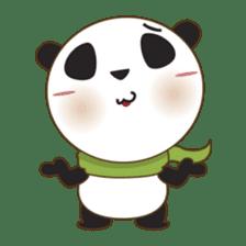 BaoBei the cute and energetic panda sticker #816254