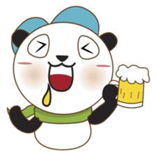 BaoBei the cute and energetic panda sticker #816256