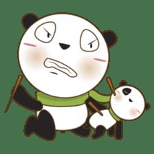 BaoBei the cute and energetic panda sticker #816258