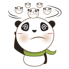 BaoBei the cute and energetic panda sticker #816260