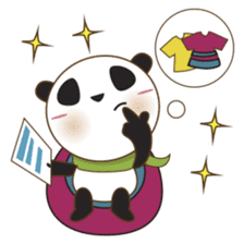 BaoBei the cute and energetic panda sticker #816263