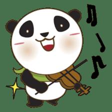 BaoBei the cute and energetic panda sticker #816269
