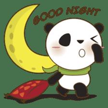 BaoBei the cute and energetic panda sticker #816270