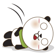 BaoBei the cute and energetic panda sticker #816271