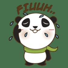 BaoBei the cute and energetic panda sticker #816273