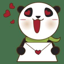 BaoBei the cute and energetic panda sticker #816277