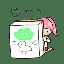 Mahjong girls sticker #818530