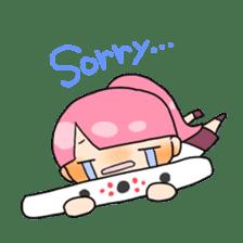 Mahjong girls sticker #818538
