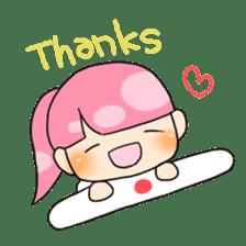 Mahjong girls sticker #818554