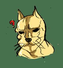 Mutant Cat sticker #819039