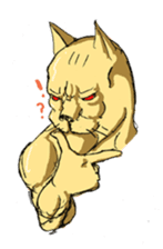 Mutant Cat sticker #819041