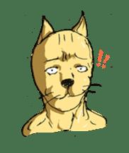 Mutant Cat sticker #819042