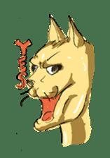 Mutant Cat sticker #819044