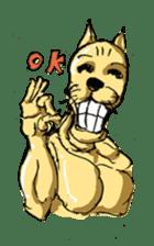 Mutant Cat sticker #819048