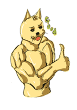 Mutant Cat sticker #819051