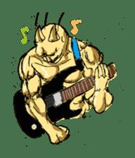 Mutant Cat sticker #819056