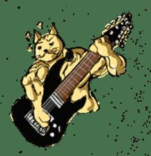 Mutant Cat sticker #819057