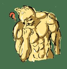 Mutant Cat sticker #819058