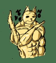Mutant Cat sticker #819064