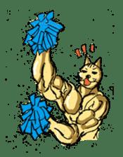 Mutant Cat sticker #819065