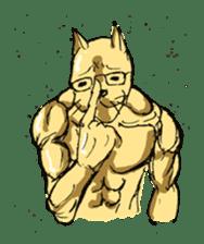 Mutant Cat sticker #819073