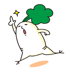 Mr. Daikon-kun