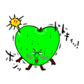 Mr.Strawberry and his friends. sticker #819625