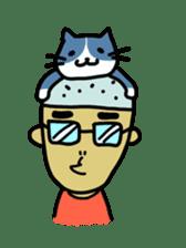 Japanese Otaku boy,his name is Oie sticker #819719