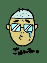 Japanese Otaku boy,his name is Oie sticker #819723