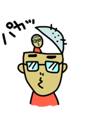 Japanese Otaku boy,his name is Oie sticker #819729
