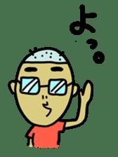 Japanese Otaku boy,his name is Oie sticker #819738