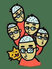 Japanese Otaku boy,his name is Oie sticker #819754