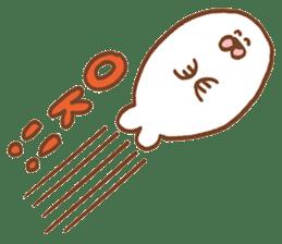 I am seal sticker #820401